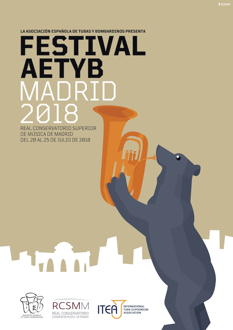 Festival AETYB Madrid 2018 CARTEL web